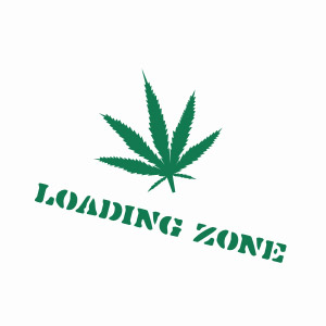 Pot loading zone, funny weed t-shirt