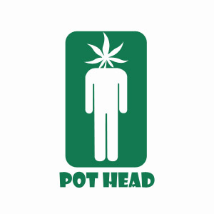 Cool funny pot head pothead tee shirt