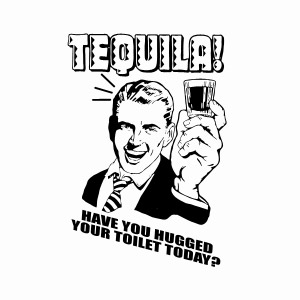 Funny tequila drinking party shirts
