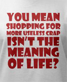 Funny womens t-shirts -- Shopping.